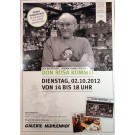 Tourplakat zur Don Rosa-Signiertour 2012 in DIN A2