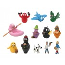 Barbapapa Set mit 12 Mini-Figuren