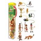 Marsupilami Set mit 12 Mini-Figuren