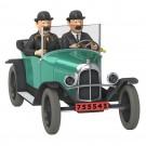 Tim und Struppi Auto 27 Citroen 5 CV der Schultzes 1:24