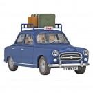 Tim und Struppi Auto 37 Das blaue Taxi von Mühlenhof 1:24