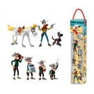 Lucky Luke Set 4 mit 7 Mini-Figuren