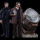 Batman John Blake & Jim Gordon With Bat-Signal Hot Toys