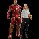 Iron Man 3 Pepper Potts And Mark IX Hot Toys