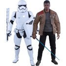 Star Wars Finn And First Order Riot Stormtrooper Set
